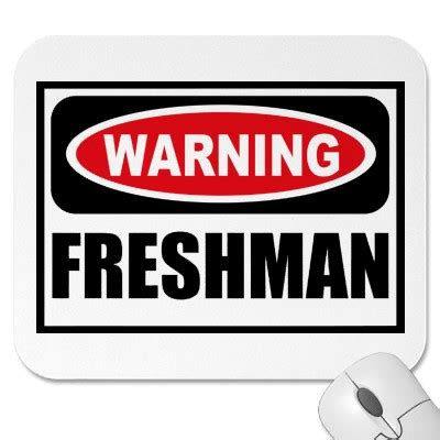 Freshman year in college essay